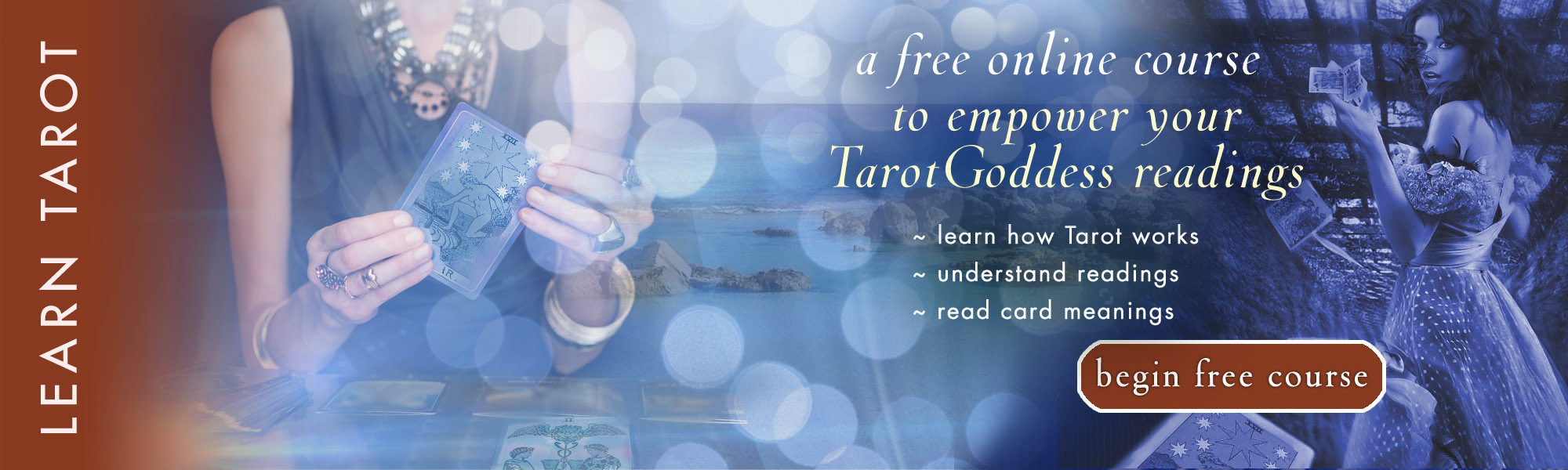 Free Learn Tarot lessons