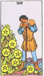 Seven of Pentacles