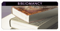 free Bibliomancy oracle reading