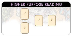 Higher Purpose tarot spread reading