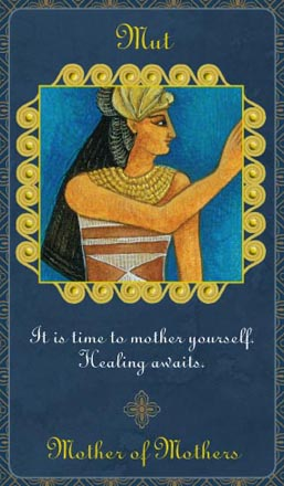 Card from Goddess Inspiration Oracle