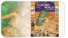 Get a free one card oracle reading with the Sacred World Oracle